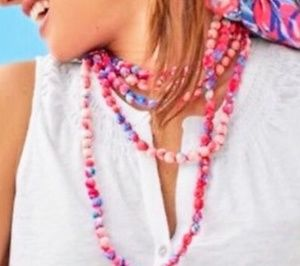 Lilly Pulitzer 🌺 Fabric Necklace